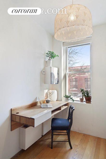 Office corner off of the hallway