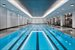 155 West 11th Street, 5K, 25-meter lap pool with adjacent hot tub