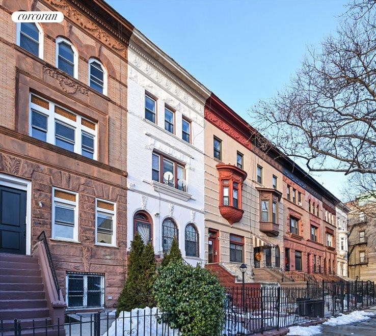 Landmarked Brownstone Tree-Lined Street