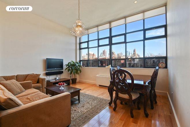 360 Furman Street 405 Huge Living Room