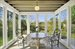 42 Oakland Avenue, Screened porch with pond views