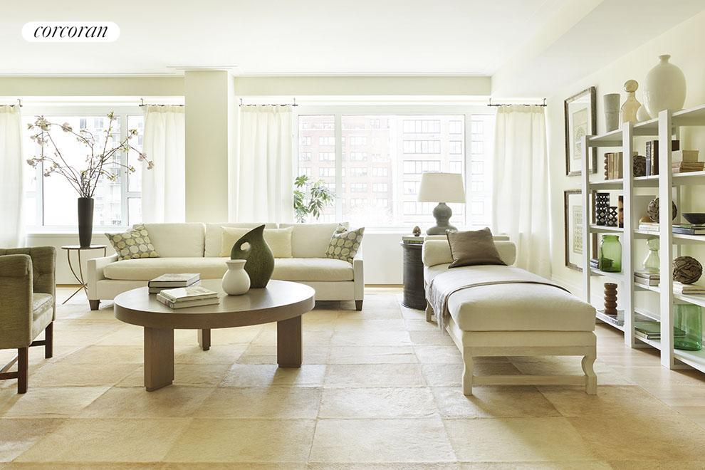 Sunny Loft-like Living Room