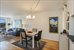 1496 BEDFORD AVE, 4D, Open living and dining room with dual exposures