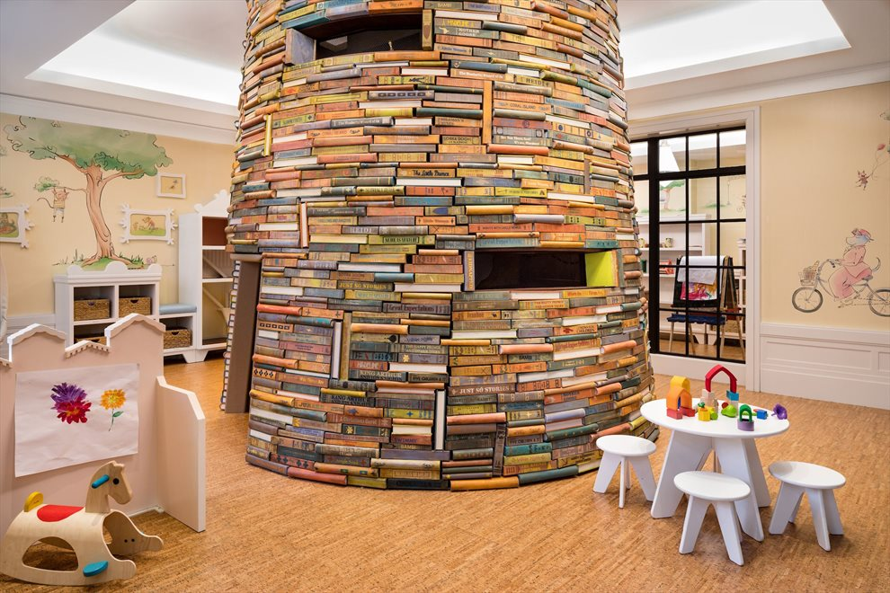 Children's playroom designed by Roto