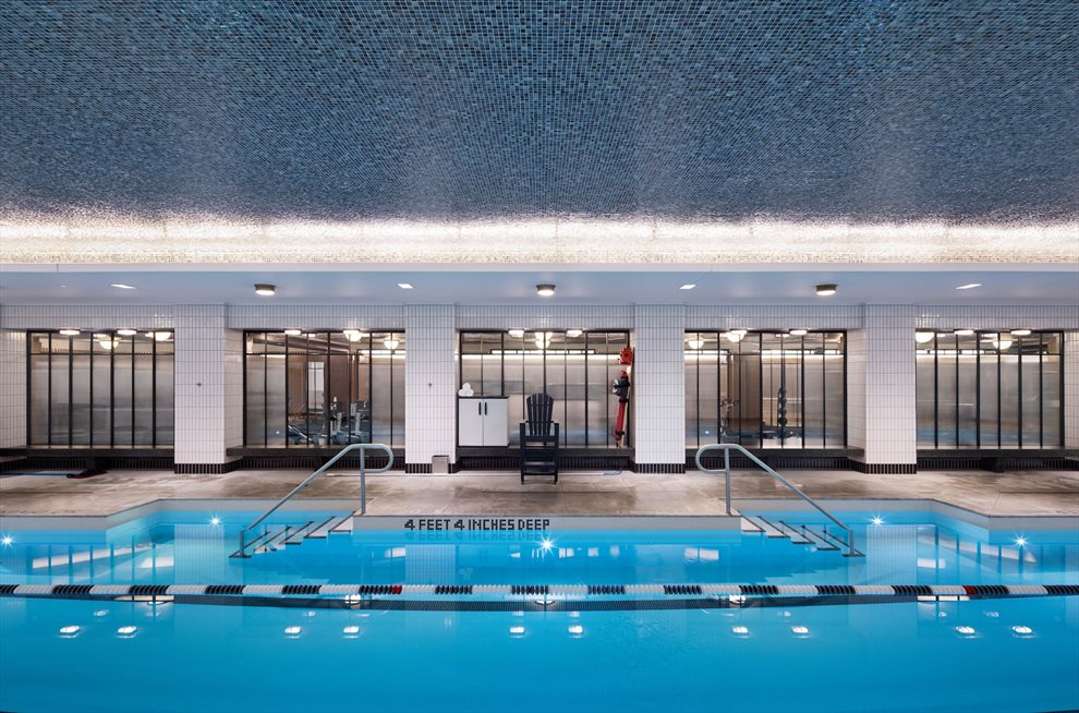 25 meter swimming pool with heated whirl pool