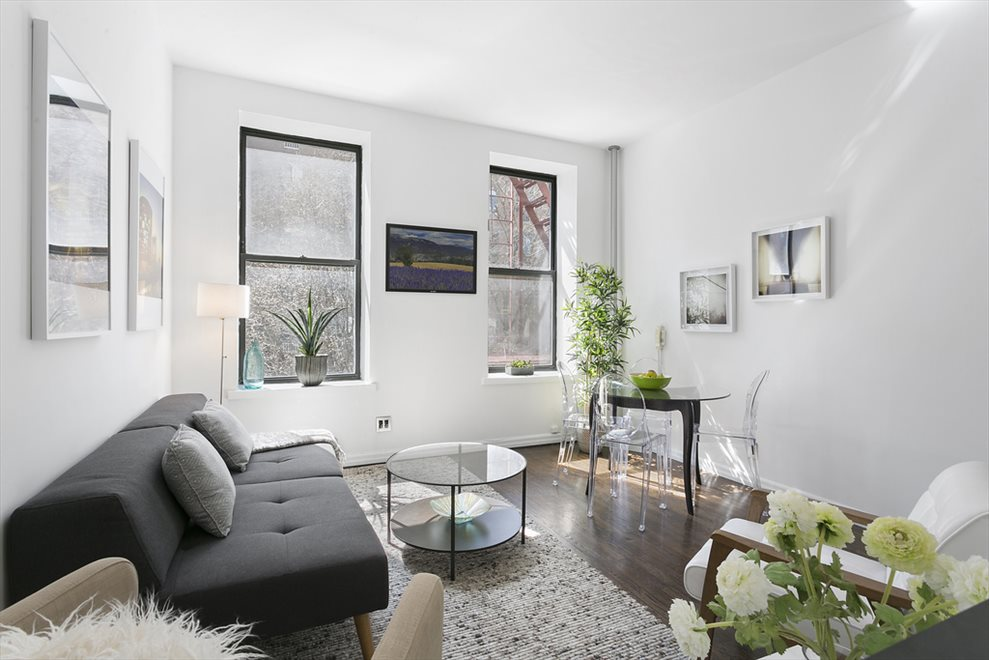 Bright Living and Dining Room