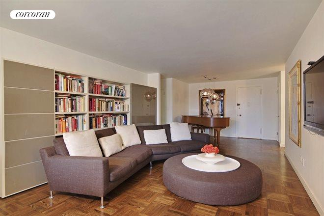 Corcoran 535 east 86th street apt 7d upper east side for Living room 86th st