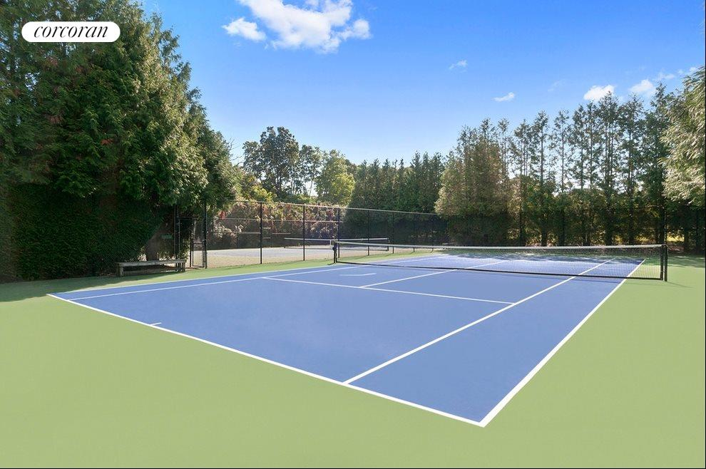 2 Community tennis courts