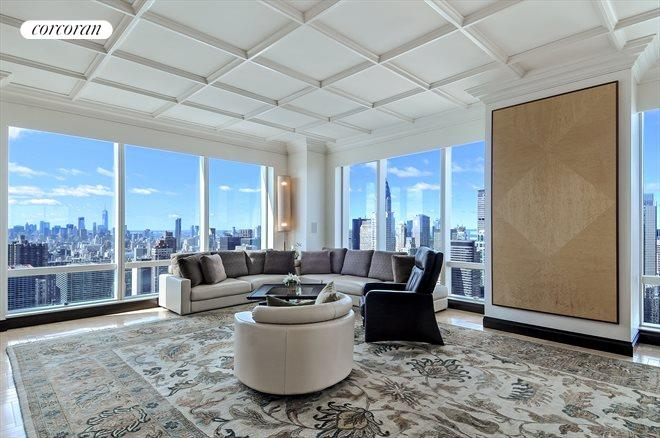 845 United Nations Plaza, 61C, Living Room