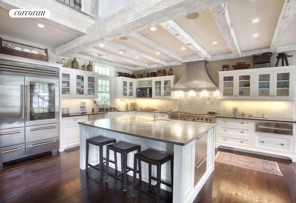 Kitchen-Virtually Lightened Beams