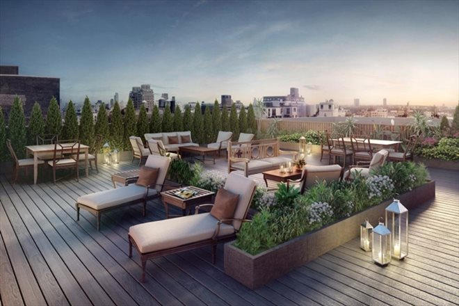 Residents' Roof Deck