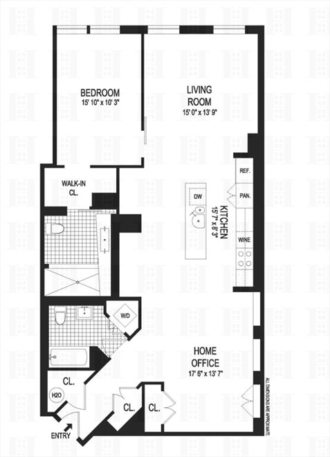 New York City Real Estate | View Berry Street | Floorplan
