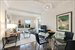 165 West 91st Street, 9C, Living Room / Dining Room