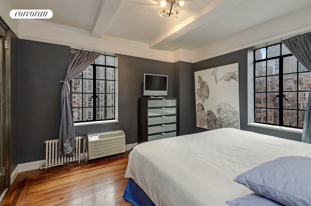 Bedroom (South + West Views)