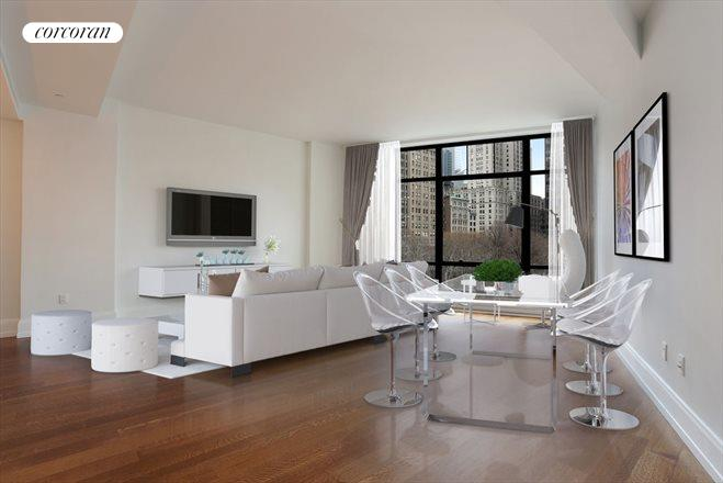 10 MADISON SQUARE WEST, 5G, Living Room