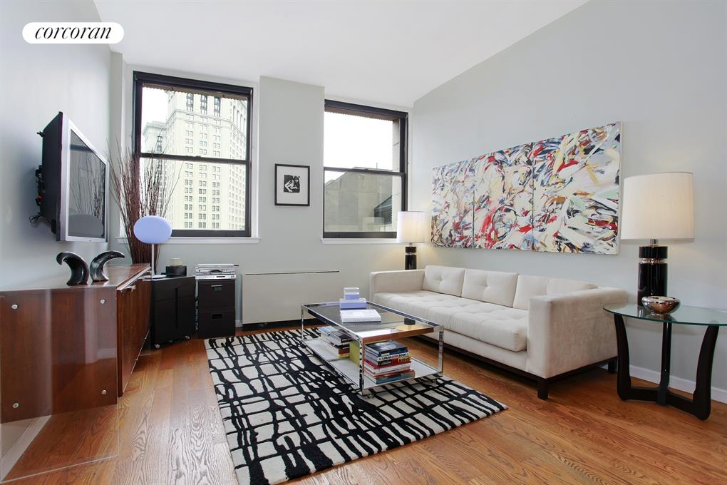 150 NASSAU ST, 6E, Living Room with unobstructed Northern View