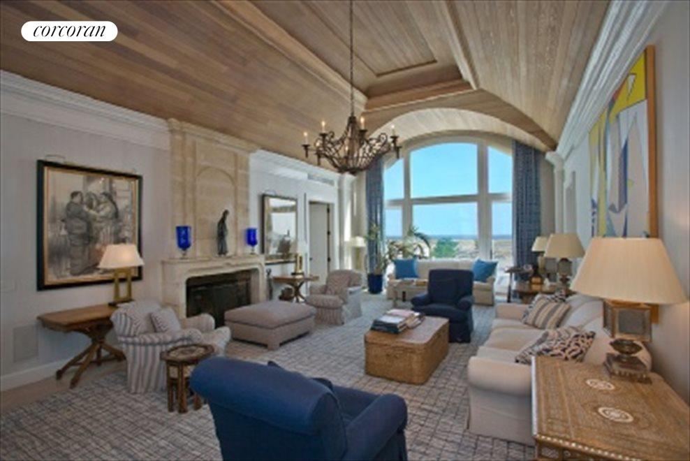 Living Room With Ocean And Bay Views