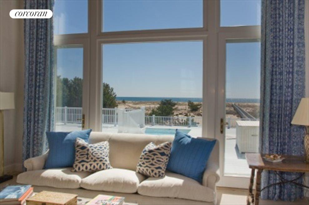 Oceanviews From Double Height Living Room