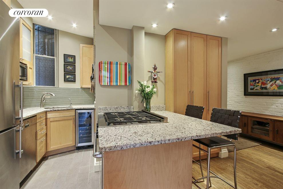 Recently Renovated Windowed Kitchen