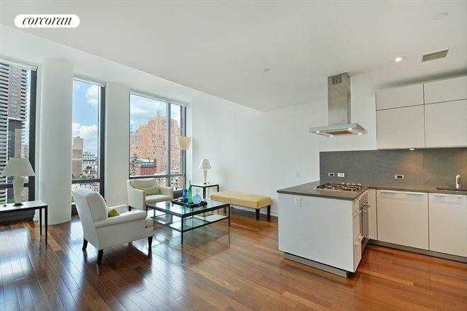 101 WARREN ST, 1250, Kitchen / Living Room