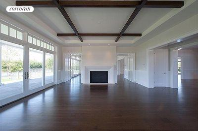 The Hamptons Real Estate | View 178 Bay Lane | living room