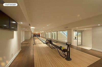 The Hamptons Real Estate | View 178 Bay Lane | bowling alley