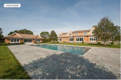 The Hamptons Real Estate | View 178 Bay Lane | rear exterior