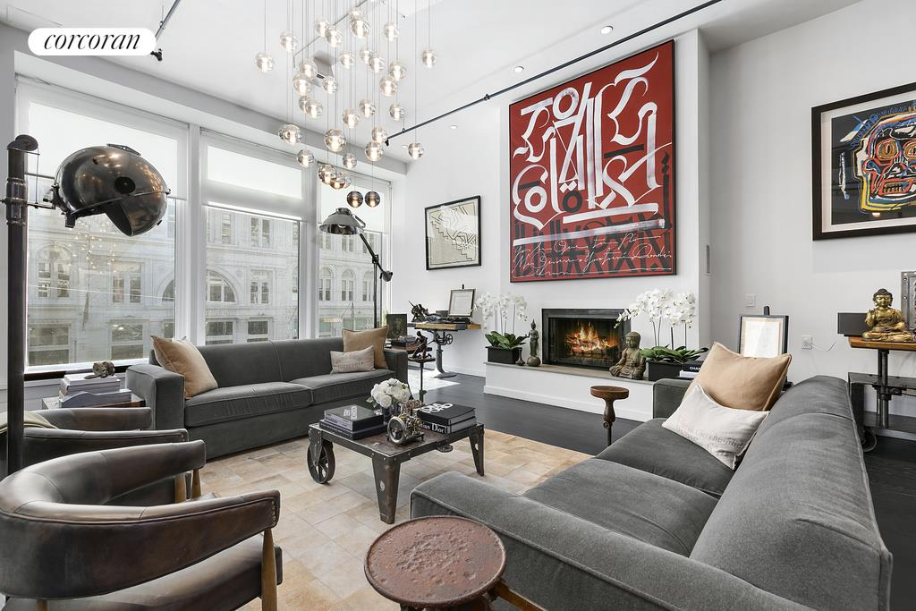 35 West 23rd Street, 2 FL, Living Room