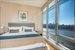 1 Northside Piers, PH3, Master Bedroom with views of Downtown Manhattan