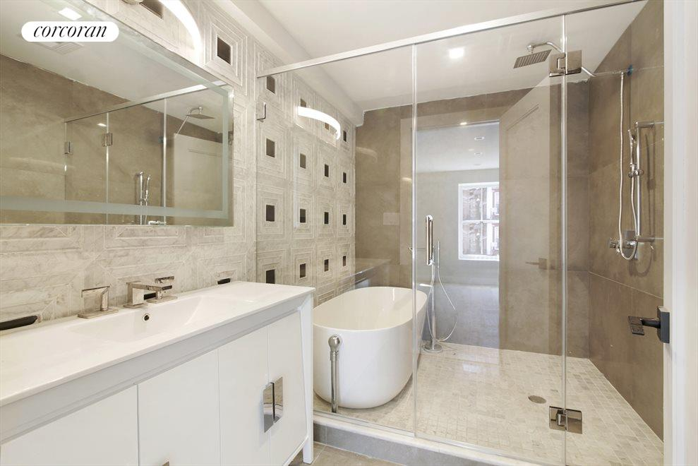Master Bathroom with Deep Soaking Tub