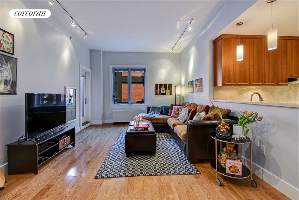 New York City Real Estate | View 12 McGuinness Blvd S, #2A | Living Room