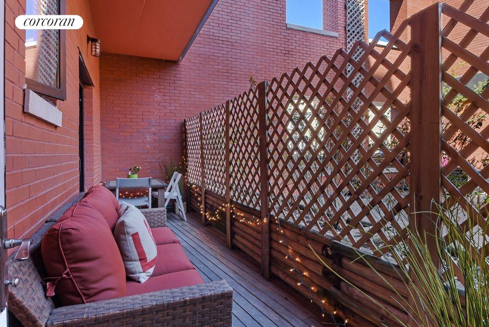 New York City Real Estate | View 12 McGuinness Blvd S, #2A | Terrace