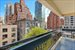 245 East 50th Street, 7B, Large Balcony Overlooks Gardens and Blue Sky