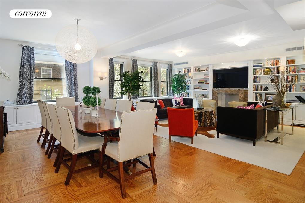 161 West 75th Street, 2/3D, Living Room