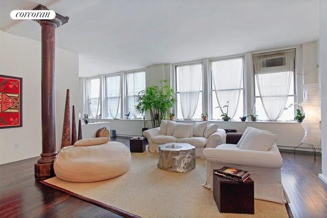 48 East 13th Street, 5B, Living Room