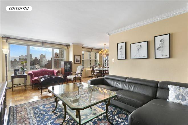 420 East 72nd Street, 14J, Living Room