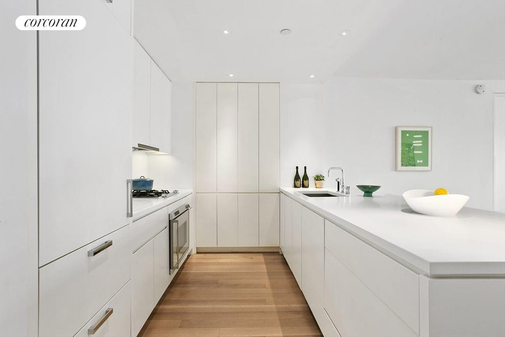 Seamlessly designed modern kitchen