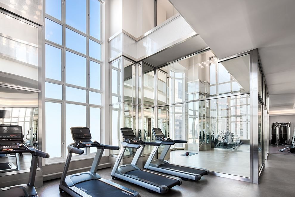 New York City Real Estate | View 30 PARK PLACE, #51E | Gym