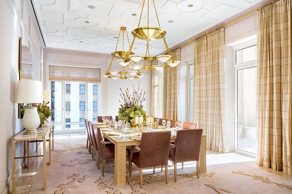 New York City Real Estate | View 30 PARK PLACE, #51E | Private Dining Room