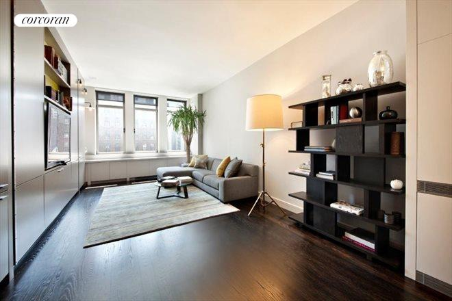 252 Seventh Avenue, 10J, Living Room with 11 Foot Ceilings