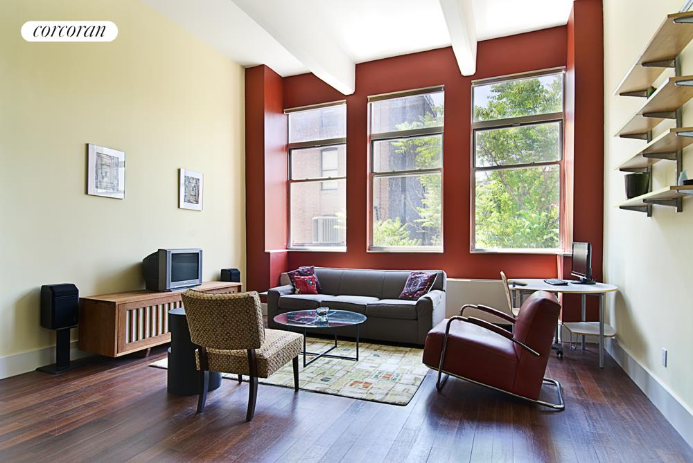 60 Broadway, 2P, Living Room