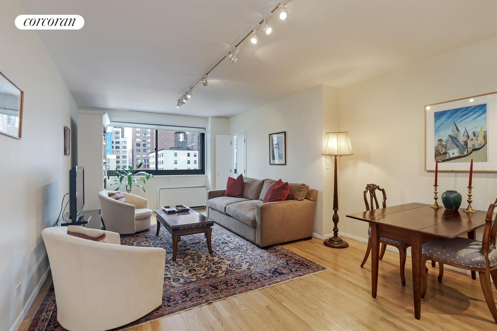 1725 York Avenue, 14G, Sunny and Spacious Living/Dining  Room