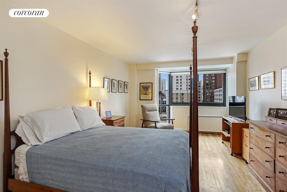 Large West Facing Master Bedroom
