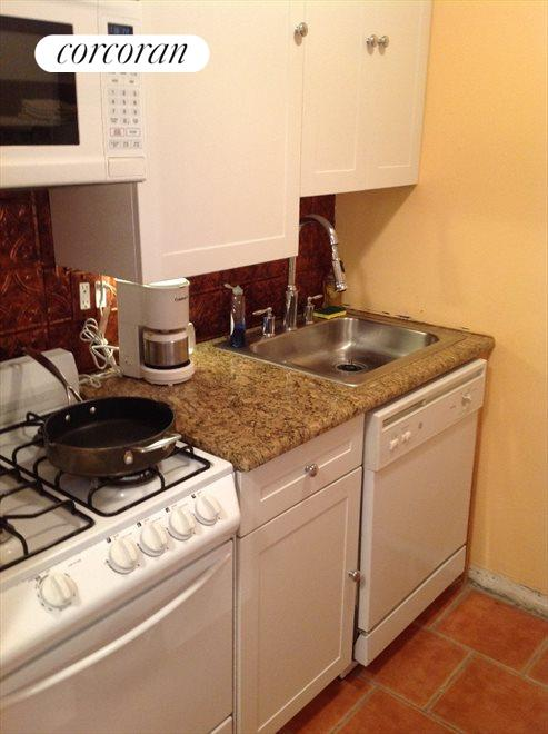 Simple and clean with granite countertops