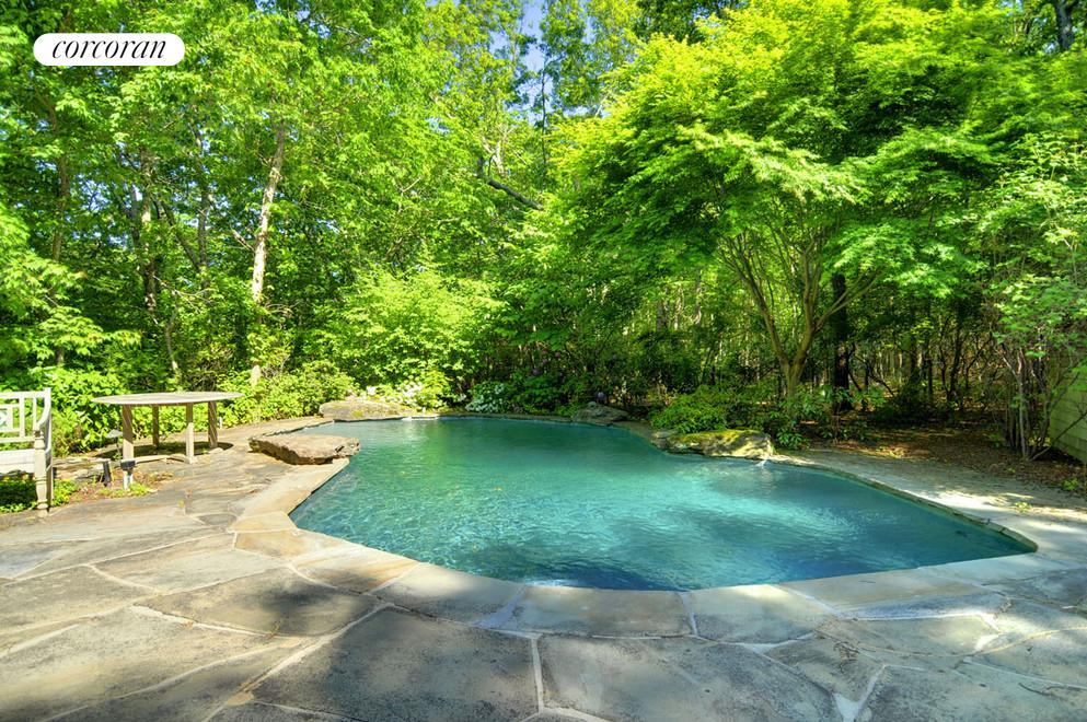 870 Millstone Road, Peaceful back yard and pool