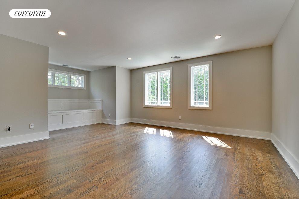 Beautiful wood floors on both floors
