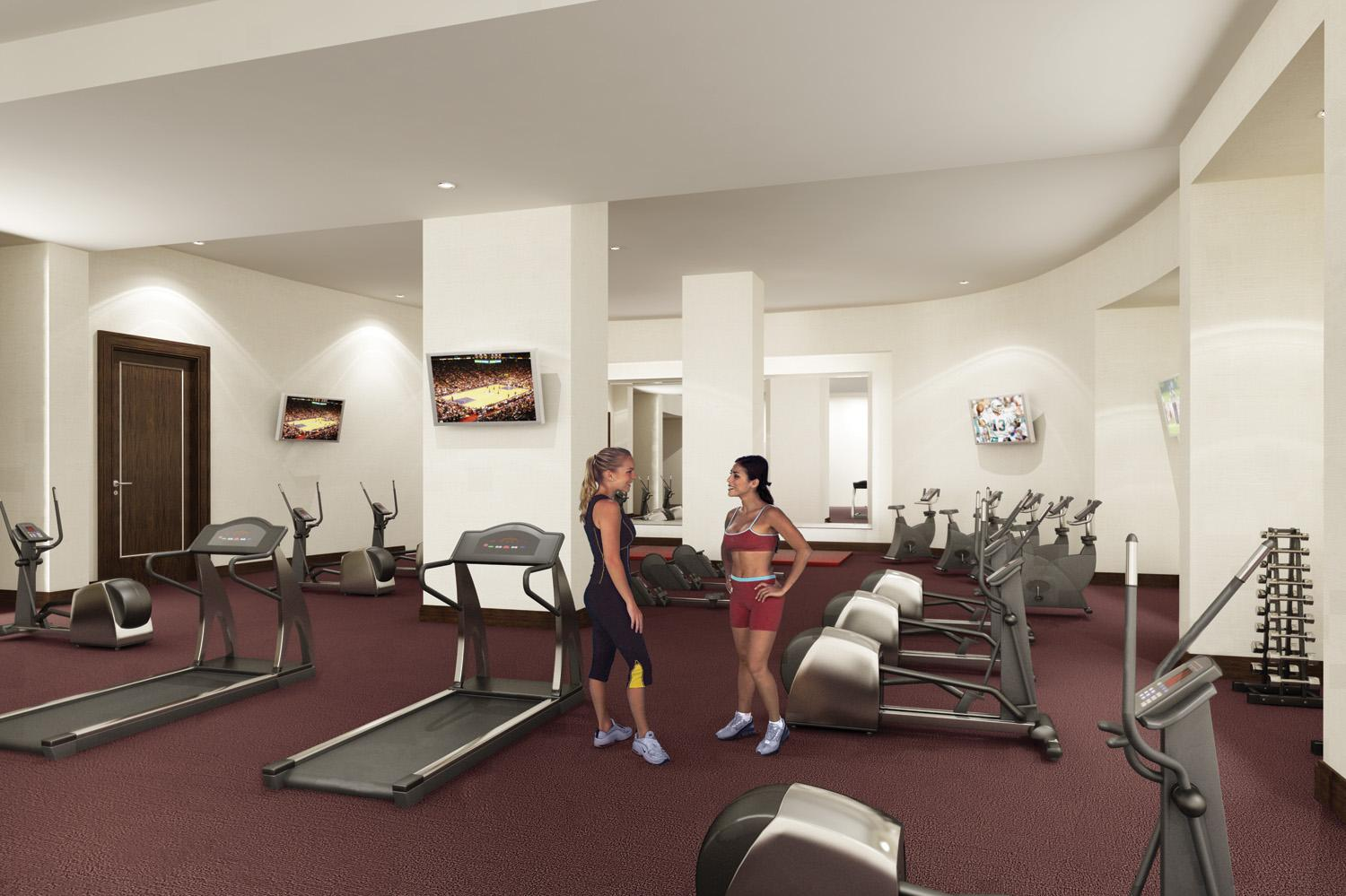 Avery Fitness Center / Gym