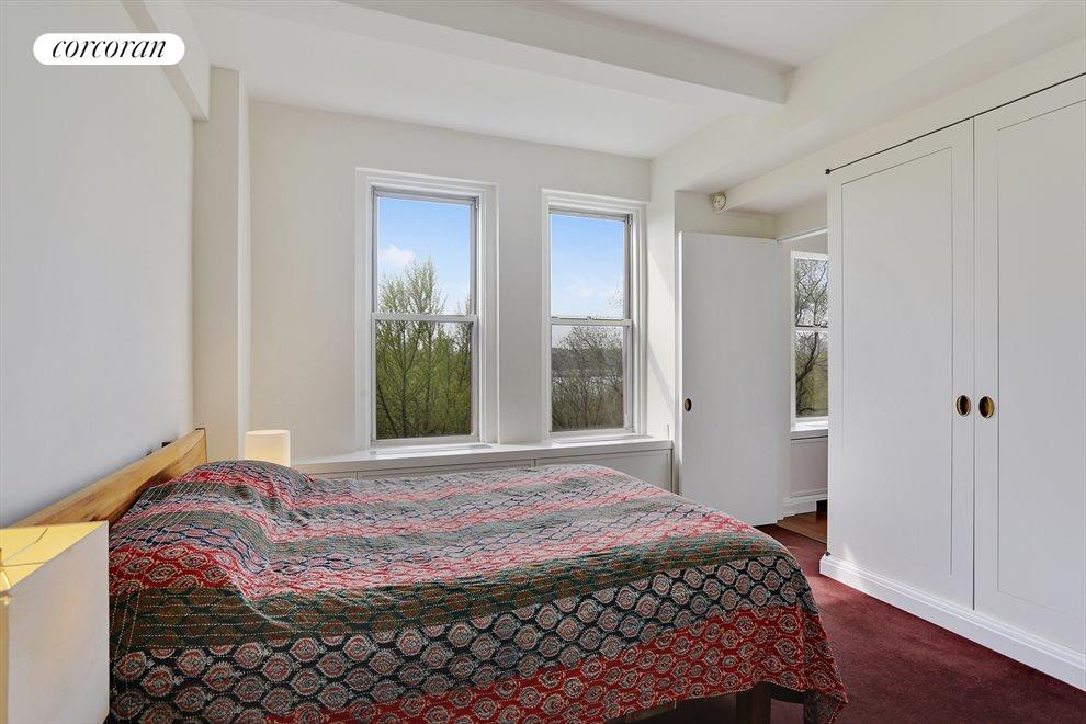 Sunny Bedroom with West Facing Park Views
