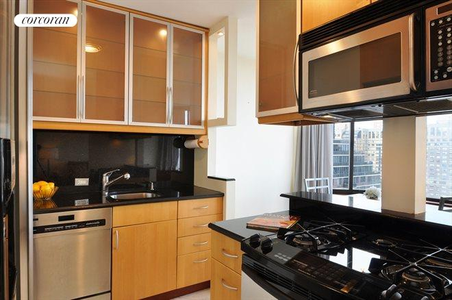 300 East 93rd Street, 34C, Open and Bright Modern Kitchen