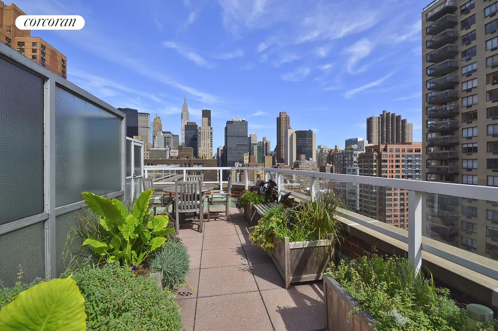 Common Roof Deck with Stunning Views
